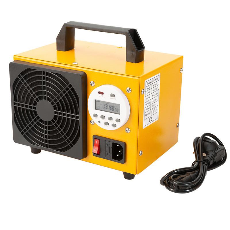 Ózongenerátor 10000 mg/h (10g/h) digitális kijelzővel és órá